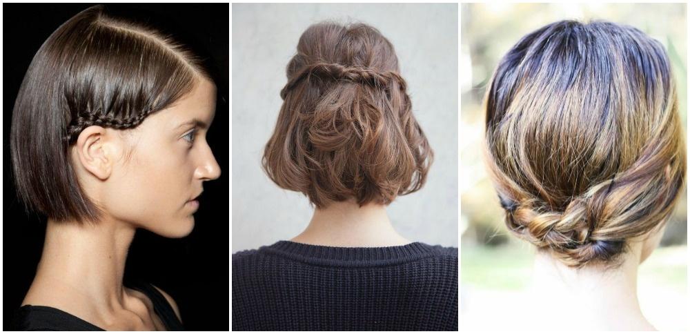 Tipos de trenzas para el cabello corto
